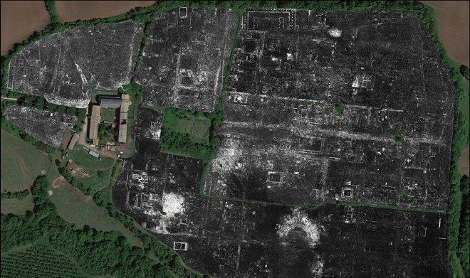 Георадар помог воссоздать полную карту утерянного древнеримского города