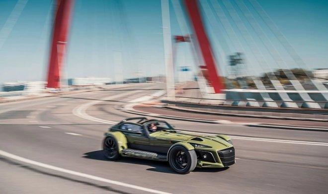 Donkervoort выпустила первый в мире серийный суперкар с боковым ускорением 2G
