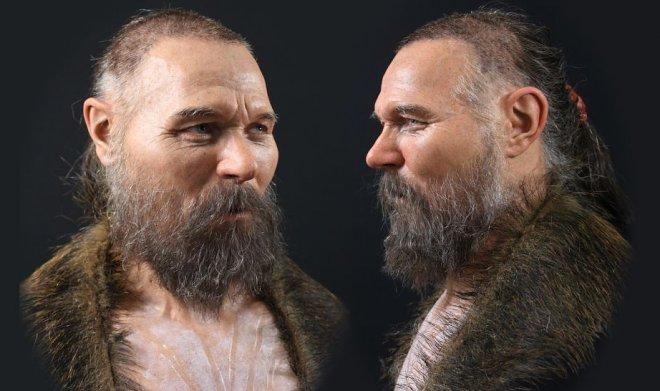 Ученые восстановили облик человека Каменного века по его черепу