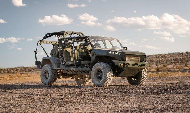 Новые боевые внедорожники Армии США оказались переделанным пикапом Chevy Colorado