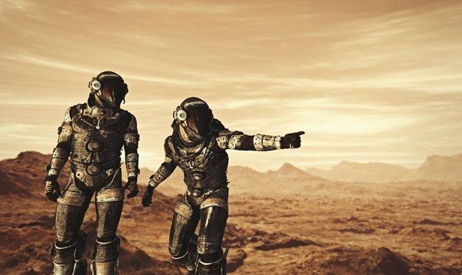 Ученый выяснил, что для выживания первой марсианской колонии достаточно всего 110 человек