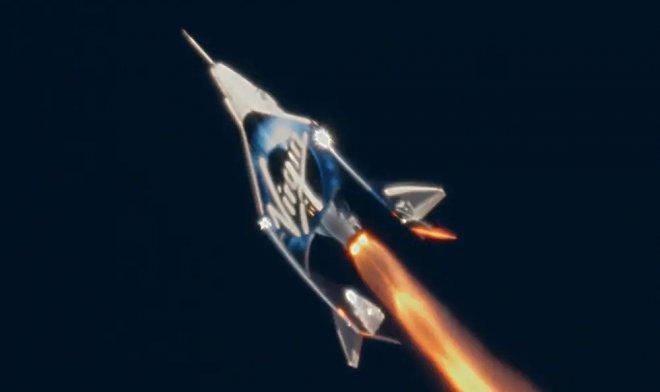 Virgin Galactic покажет кабину своего космического корабля через YouTube
