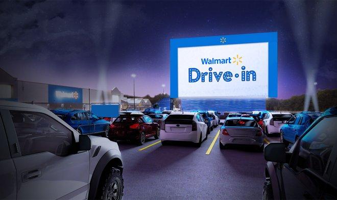 Кинотеатр Walmart