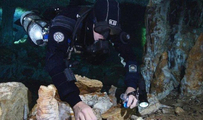 В Мексике найдена древнейшая затопленная шахта возрастом более 12 000 лет