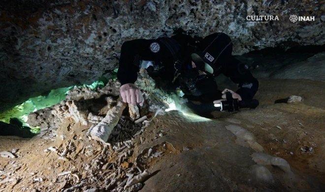 Мексиканская пещера