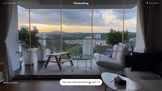Проект WindowSwap превратит ваш компьютер в окно в другой мир