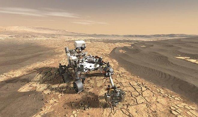 Спустя 600 тысяч лет NASA возвращает марсианский камень на родную планету