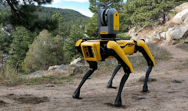Компания Formant предлагает всем желающим взять робопса Spot на прогулку