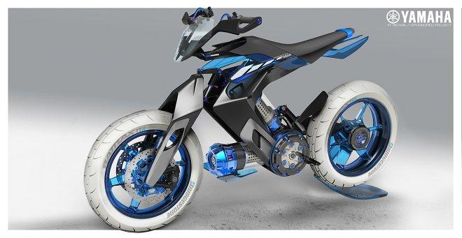 Жидкостный мотоцикл