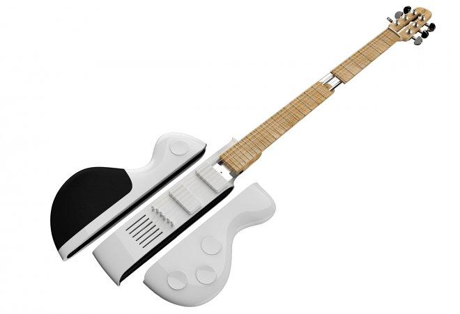 Reveho Slite – полноценная разборная гитара в чехле для ноутбука