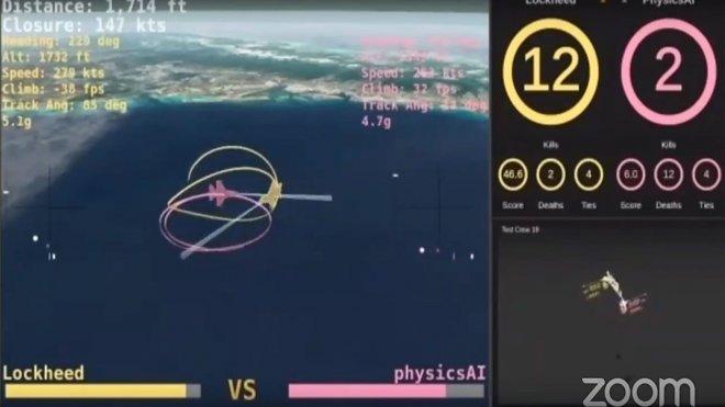 Истребитель под управлением ИИ победил в бою «живого» пилота ВВС США
