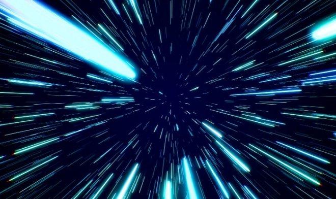 NASA показало, как на самом деле будет выглядеть полет на околосветовой скорости