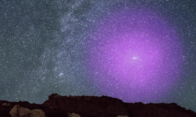 Столкновение Млечного пути и галактики Андромеды уже началось