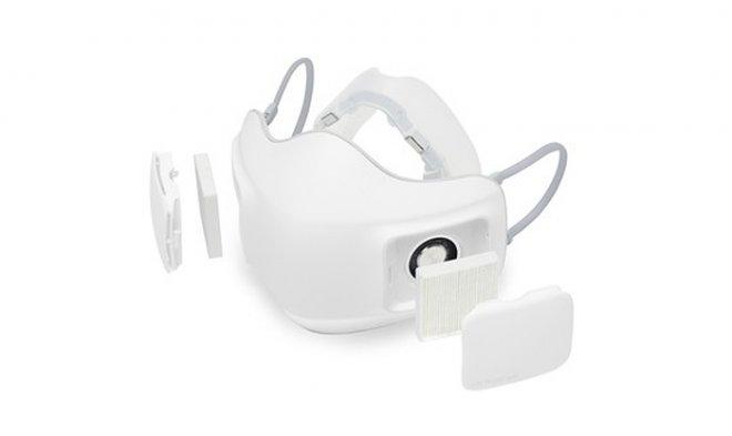 LG разработала персональный очиститель воздуха в виде защитной маски