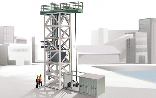 Gravitricity строит прототип гравитационной системы хранения энергии