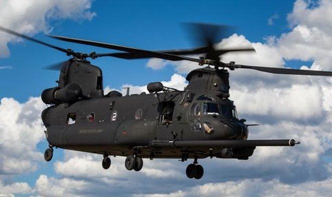 Американские коммандос получили новый тяжелый вертолет MH-47G Block II