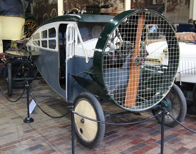 Leyat Helica – несостоявшийся автомобиль будущего, разработанный 100 лет назад