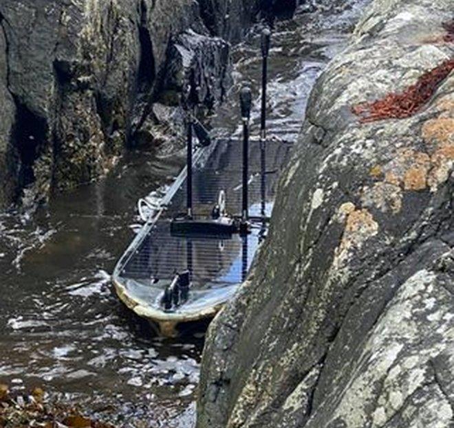 На одном из шотландских островов обнаружили бесхозный американский беспилотник-шпион