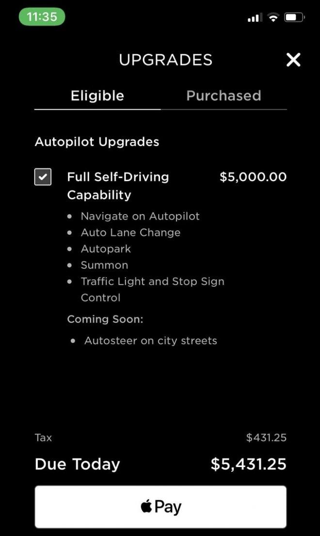 Владелец электромобиля Tesla без своего ведома получил апгрейд на 00