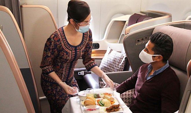 Ресторан в самолете