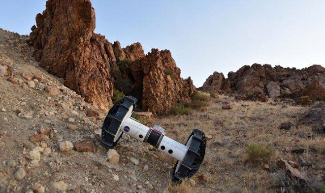 NASA представило ровер-трансформер для исследования самых недоступных участков Марса