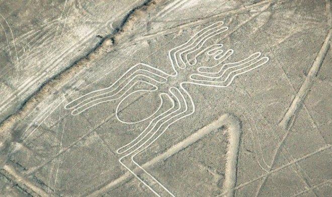 В пустыне Наска нашли рисунок гигантской кошки возрастом 2000 лет