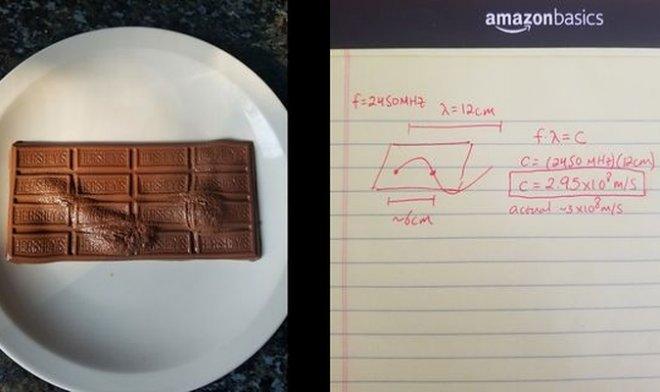 Шоколад в СВЧ