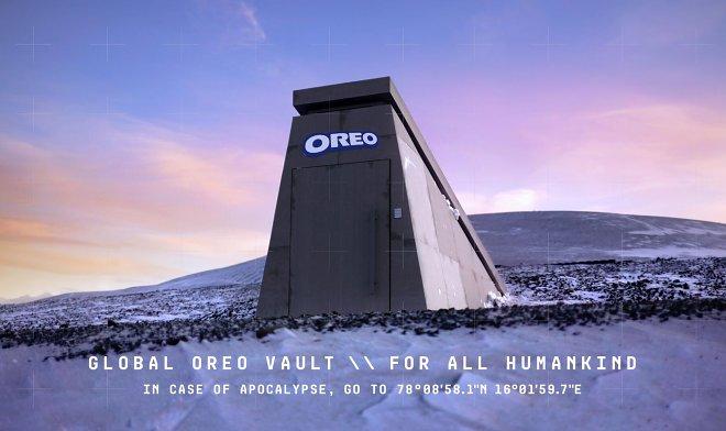 Хранилище Global Oreo Vault