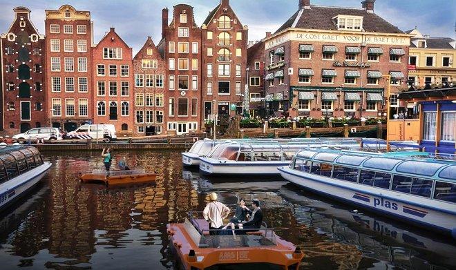 Автономная робо-лодка Roboat II готовится покорять каналы Амстердама