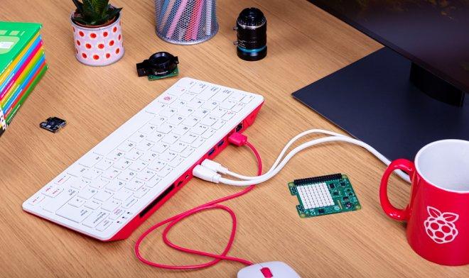Raspberry Pi 400 – полноценный компьютер за $70, который умещается в клавиатуре