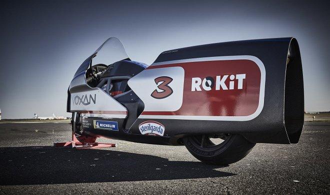 Электроцикл Voxan Wattman установил 11 мировых рекордов