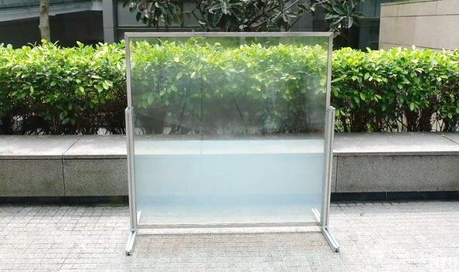 Жидкостный стеклопакет