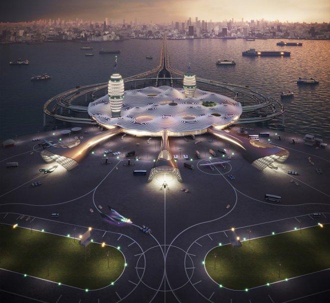 Япония серьезно намерена построить космопорт в Токийском заливе
