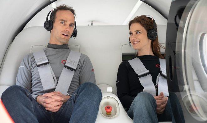 Virgin Hyperloop успешно прошла первый тест с пассажирами на борту