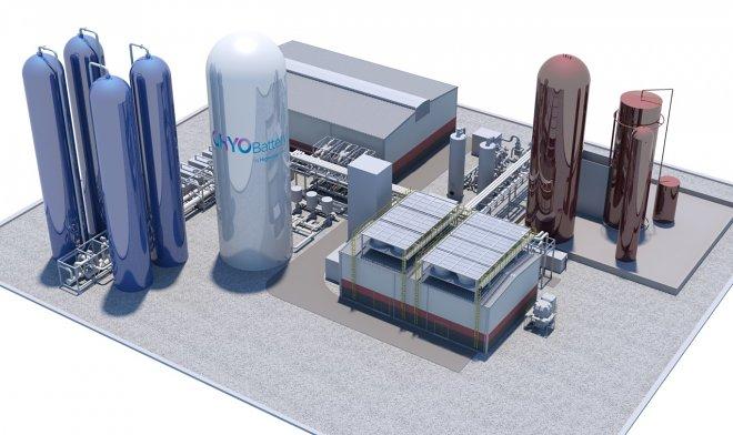 В Британии строят мощную криобатарею, которая будет хранить энергию в виде сжиженного воздуха
