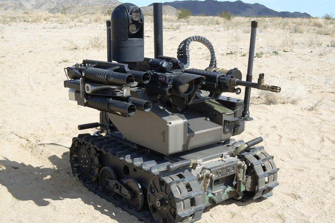 К 2030 году британская армия на 25% будет состоять из роботов