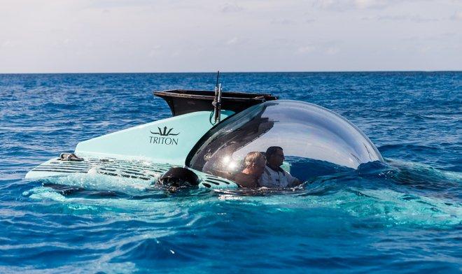 Triton Submarines выпустила новый шестиместный батискаф для подводных прогулок