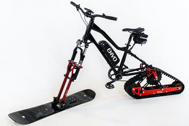 Велоснегокат