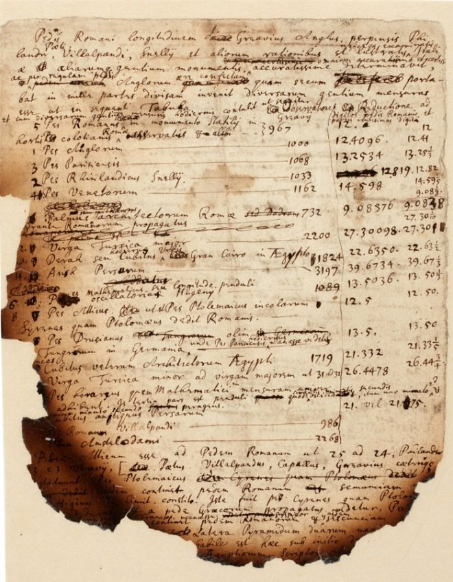 Манускрипт Ньютона