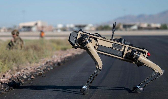 ВВС США провели испытания боевой версии робопса Spot