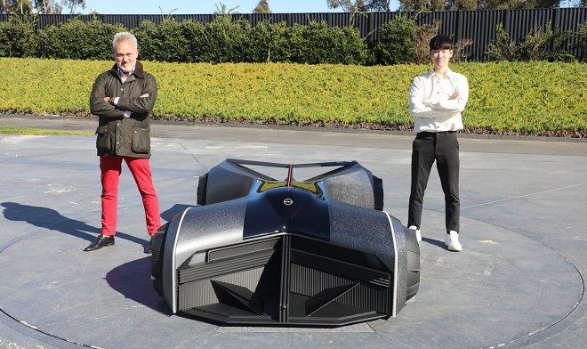 Nissan создал концепт GTR-X – транспортного экзоскелета будущего