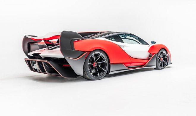 McLaren выпустил эксклюзивный MSO Sabre – свой самый мощный суперкар с ДВС