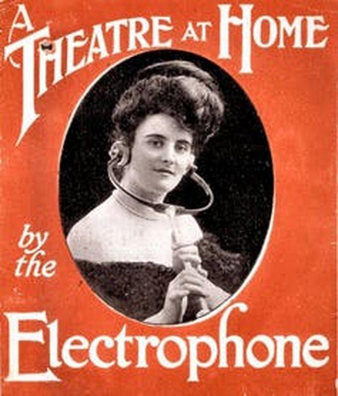 Электрофон викторианской эпохи – далекий предок современных стриминговых сервисов