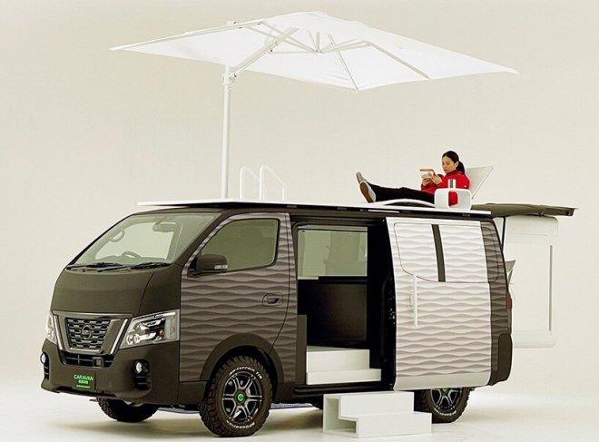 Nissan разработал концепт удобного «офиса, который всегда с тобой»