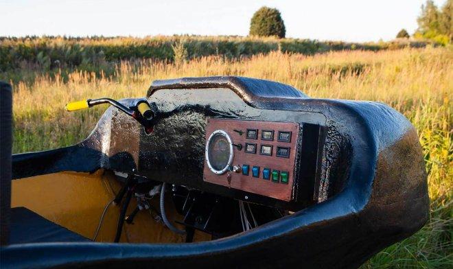 Российские геологи разработали шестиколесную амфибию для работы на крайнем Севере