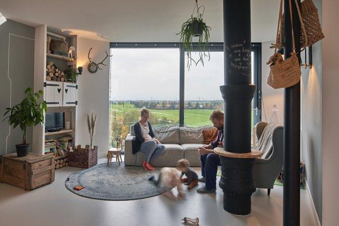 Мечты сбываются: в Нидерландах старую водонапорную башню превратили в родовой особняк