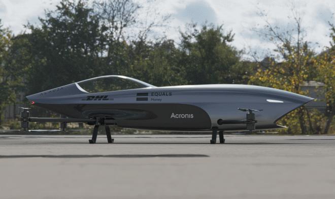 Коптер Alauda Airspeeder готовится к первым в мире гонкам летающих болидов