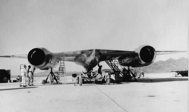 Инженер Зоны 51 опубликовал фото испытаний секретного самолета A-12