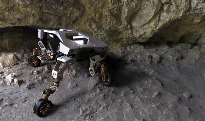 Hyundai занялась разработкой универсального колесного шагохода TIGER