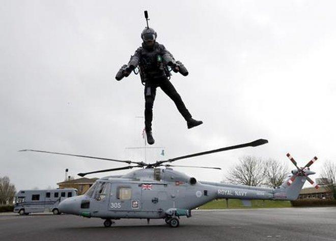 Агентство DARPA объявило конкурс на создание военного джетпака